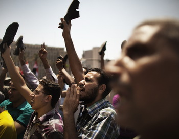 Египтяне 1 июня 2012 года. Фото: MARCO LONGARI/AFP/GettyImages