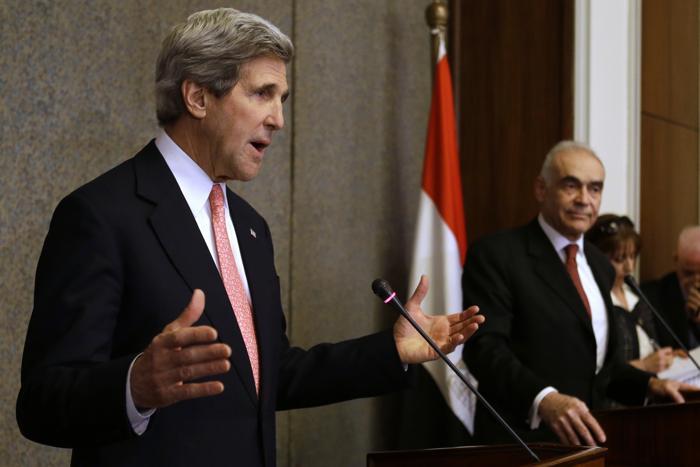 Египет встретил Госсекретаря США Джона Керри акциями протеста. Фото: Ed Giles/Getty Images