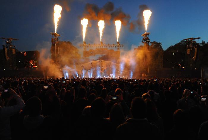 Концерт в поддержку фильма «Мировая война Z» в Лондоне. Фото: Eamonn M. McCormack/Getty