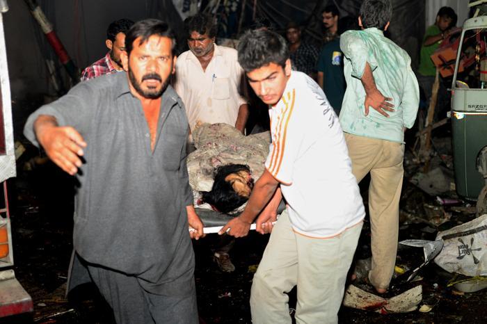 Теракт в Пакистане унёс жизни 45 человек. Фото: RIZWAN TABASSUM/AFP/Getty Images