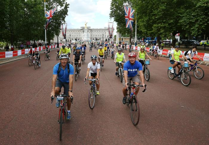 Крупнейший фестиваль велоспорта стартовал 3 августа 2013 года в Лондоне. Фото: Peter Macdiarmid/Getty Images