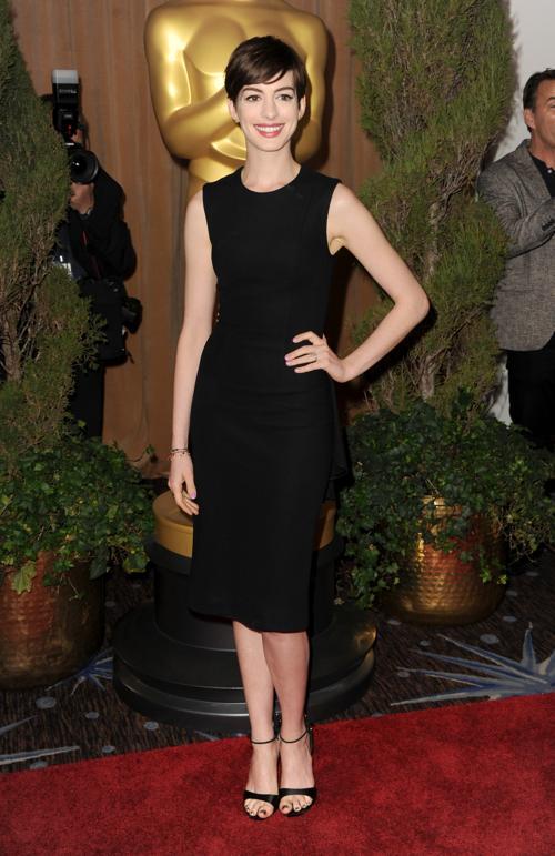 Энн Хэтэуэй на 85th Academy Awards Nominations Luncheon 4 февраля 2013 года в Лос-Анджелесе. Фото: Kevin Winter/Getty Images