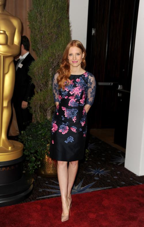 Джессика Честейн на 85th Academy Awards Nominations Luncheon 4 февраля 2013 года в Лос-Анджелесе. Фото: Kevin Winter/Getty Images