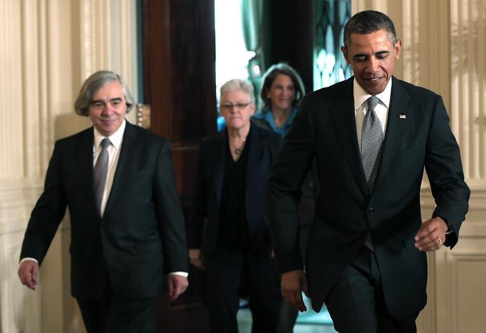 Барак Обама выдвинул кандидатуру на пост министра энергетики США. Фото: Win McNamee/Getty Images
