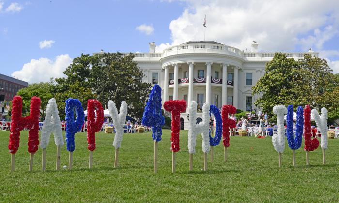 Празднование Дня независимости США у Белого дома 4 июля 2013 года. Нью-Йорк 4 июля 2013 года. Фото: Ron Sachs-Pool/Getty Images