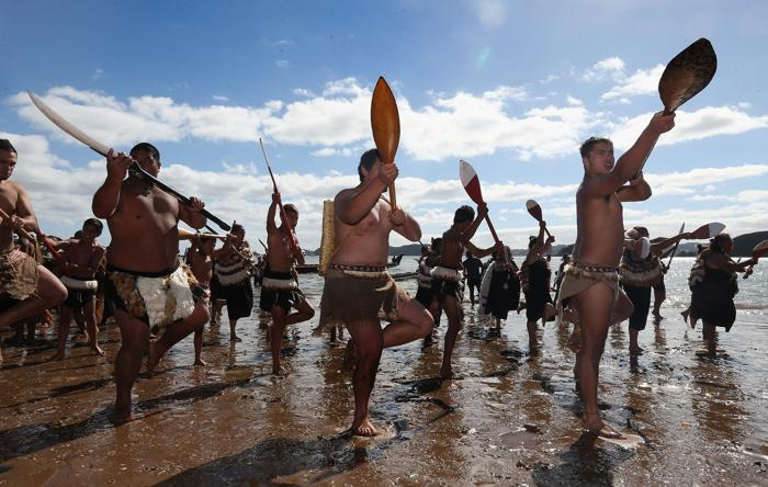 Национальный день в Новой Зеландии, 6 февраля 2013 года. Фото: Sandra Mu/Getty Images