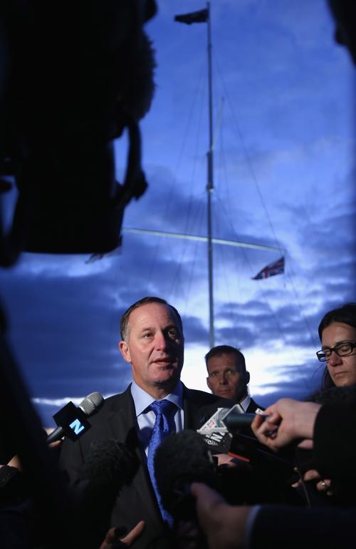 Премьер-министр Новой Зеландии Джон Кей, 6 февраля 2013 года. Фото: Sandra Mu/Getty Images