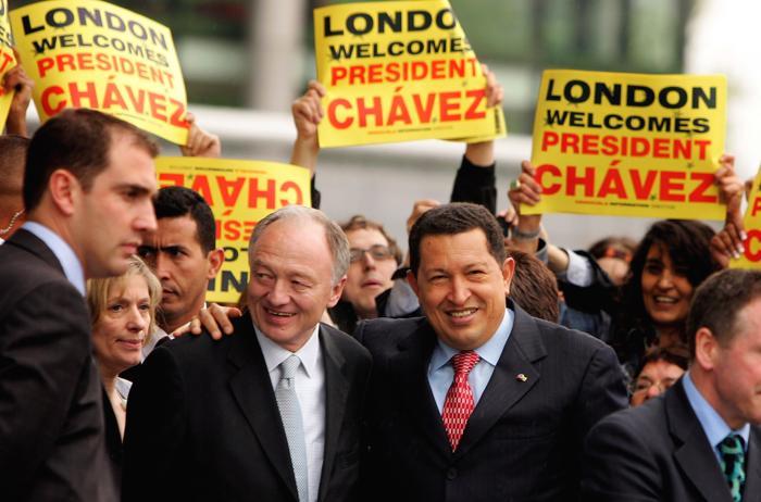Президент Венесуэлы Уго Чавес. Фото: Scott Barbour/Getty Images