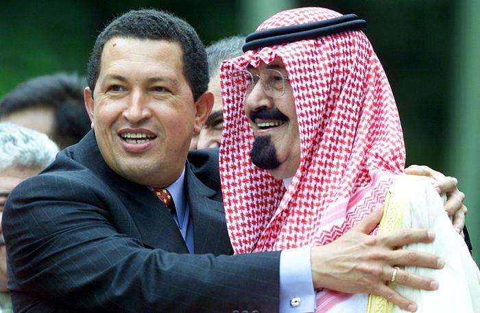 Президент Венесуэлы Уго Чавес. Фото: OMAR TORRES/AFP/Getty Images