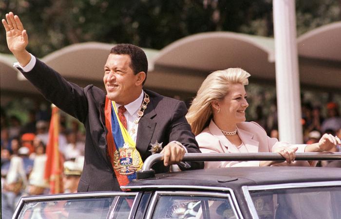 Президент Венесуэлы Уго Чавес. Фото: BERTRAND PARRES/AFP/Getty Images