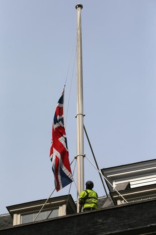 В Великобритании простились с Маргарет Тэтчер. Фото: Oli Scarff/Getty Images