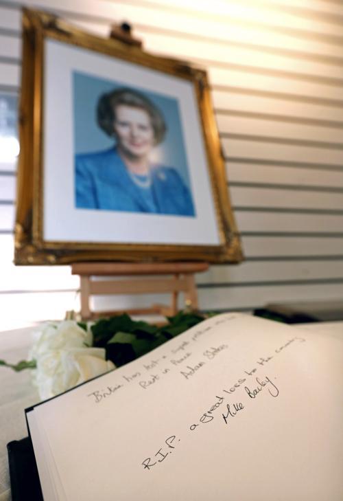 В Великобритании простились с Маргарет Тэтчер. Фото: Rosie Hallam/Getty Images