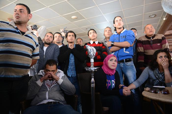 Смертный приговор фанатам привёл к массовым протестам в Каире. Фото: KHALED DESOUKI/AFP/Getty Images