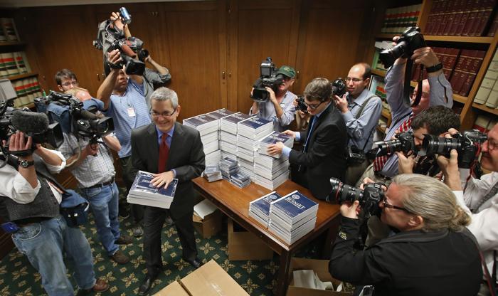 Президент США представил проект бюджета на 2014 год. Фото: Chip Somodevilla / Getty Images