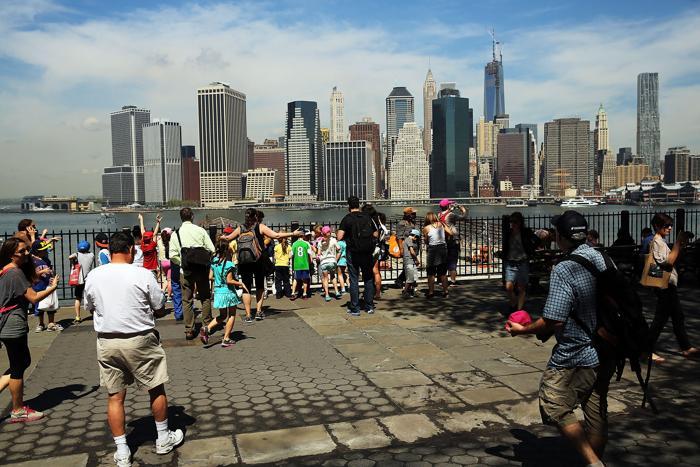 Башня свободы в Нью-Йорке достигла максимальной высоты. Фото: Spencer Platt/Getty Images
