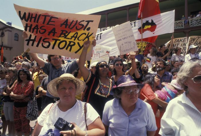 Протест в 1988 году. Фото: Patrick Riviere/Getty Images