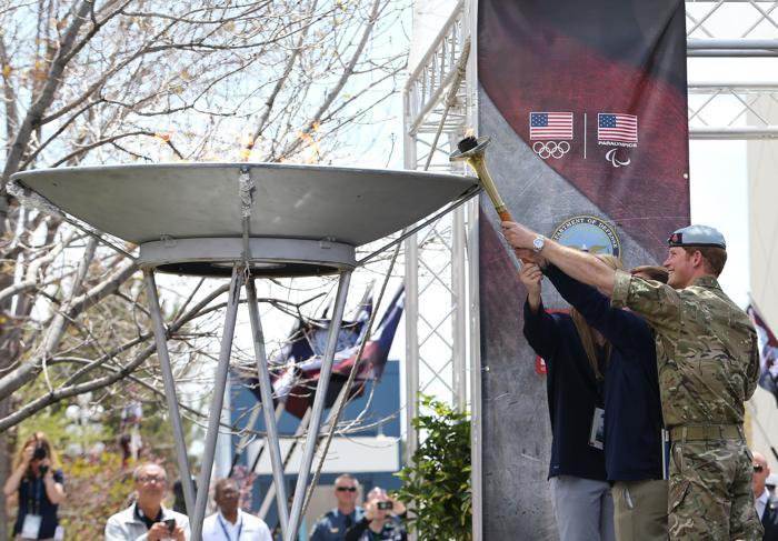 Принц Гарри открыл военные игры в Колорадо. Фото: Chris Jackson/Getty Images