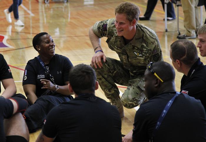 Принц Гарри открыл военные игры в Колорадо. Фото: Brennan Linsley - Pool/Getty Images