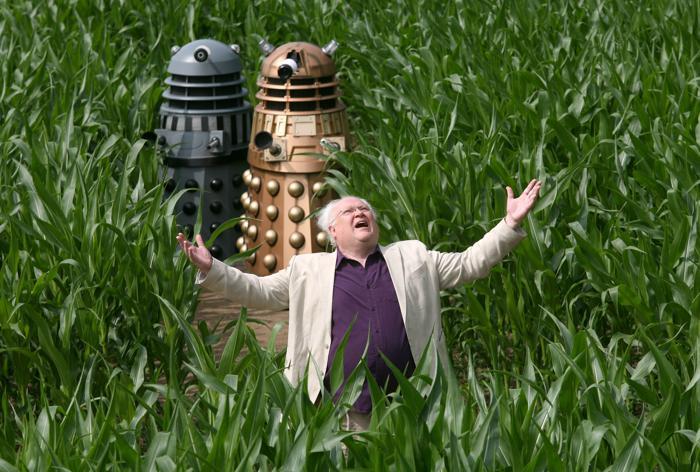 Британский фермер Том Пирси вырубил в Йорке лабиринт в честь 50-летия сериала «Доктор Кто». Фото: Kippa Matthews/David Leon/Partners PR via Getty Images