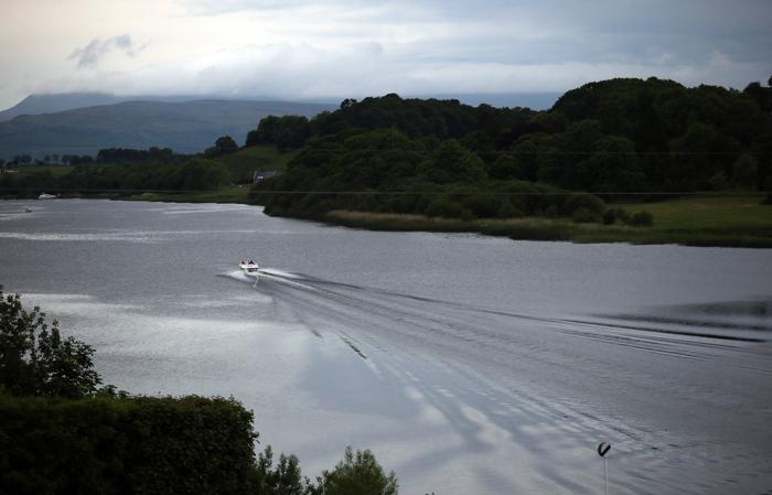 Место проведения саммита G8 -курортное место Лох-Эрн В Северной Ирландии. Фото: Matt Cardy/Getty Images