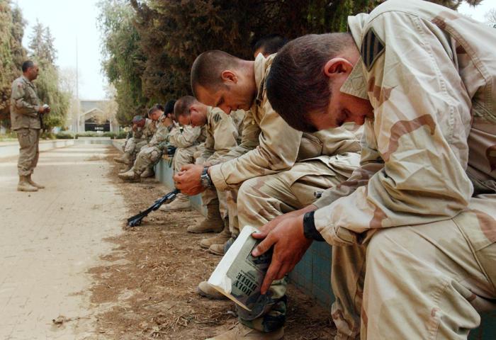 С начала военной операции в Ираке прошло 10 лет. Фото: Scott Nelson/Getty Images
