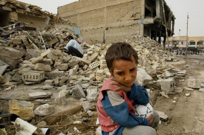 С начала военной операции в Ираке прошло 10 лет. Фото: Paula Bronstein/Getty Images