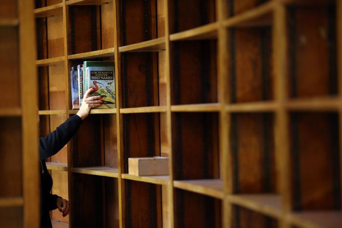 В Центральной библиотеке Ливерпуля, Великобритания, 23 января 2013 года. Фото: Christopher Furlong / Getty Images
