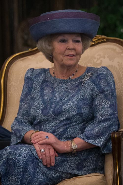 Королева Нидерландов Беатрикс с государственным визитом в Сингапуре. Фото: Chris McGrath/Getty Images
