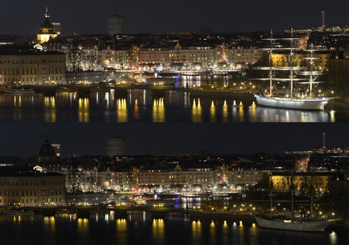 В Швеции прошёл Час Земли. Фото:  JOHAN NILSSON/AFP/Getty Images