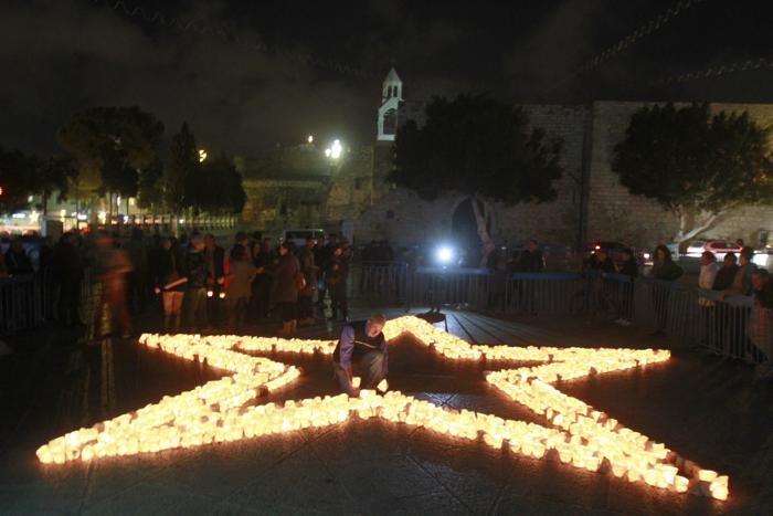 В Палестине прошёл Час Земли. Фото: MUSA AL-SHAER/AFP/Getty Images