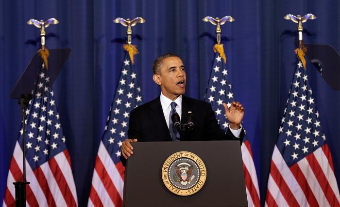 Барак Обама раскрыл политику США против терроризма. Фото: Win McNamee/Getty Images