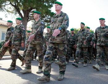Военный легион солдат Франции. Фото: PASCAL POCHARD-CASABIANCA/AFP/Getty Images