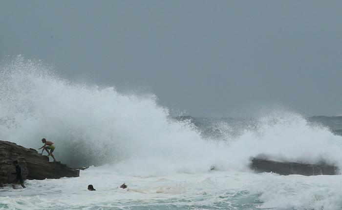 Шторм обрушился на Сидней, 29 января 2013 года, Австралия. Фото: Mark Metcalfe/Getty Images