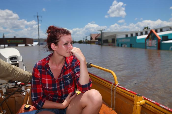 Наводнение в Бандаберге, Австралия, 29 января 2013 года. Фото: Chris Hyde / Getty Images