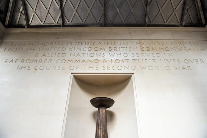 Общий вид Мемориала бомбардировочной авиации в Лондоне, Англия. Фото: Ian Gavan / Getty Images
