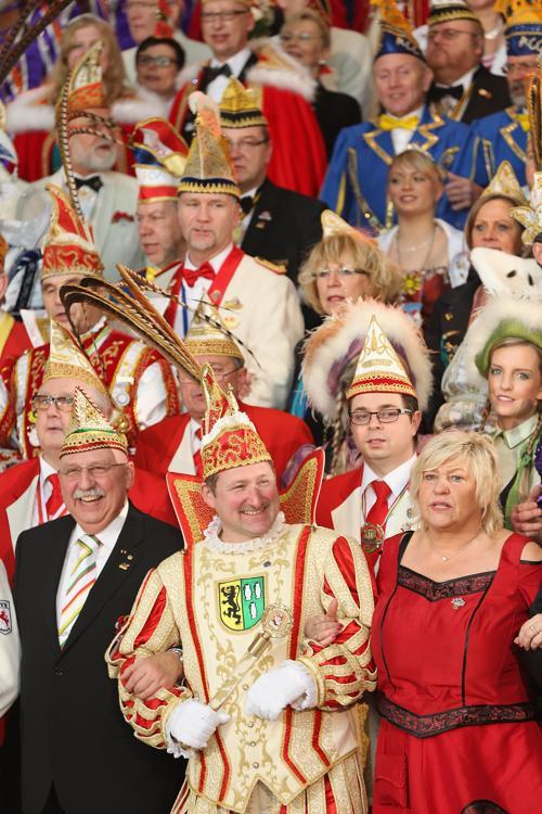 Ангела Меркель на карнавале Делегаций в Берлине, Германия, 29 января 2013 года. Фото: Sean Gallup / Getty Images