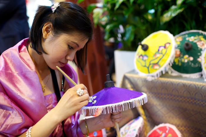Тайский стенд на международной выставке туризма FITUR, Испания, 30 января 2013 года. Фото: Carlos Alvarez / Getty Images