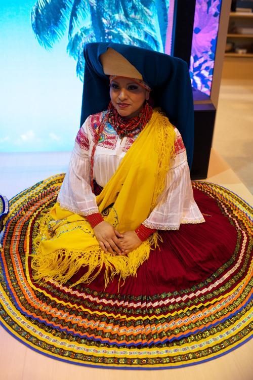 Стенд Эквадора на международной выставке туризма FITUR, Испания, 30 января 2013 года. Фото: Carlos Alvarez / Getty Images