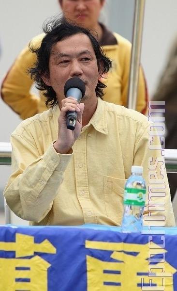 Выступает Нг Квок-Хун. Фото: Великая Эпоха