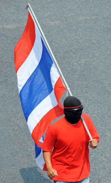 Антиправительственные акции протеста проходят в Бангкоке. Фото: PORNCHAI KITTIWONGSAKUL/AFP/Getty Images