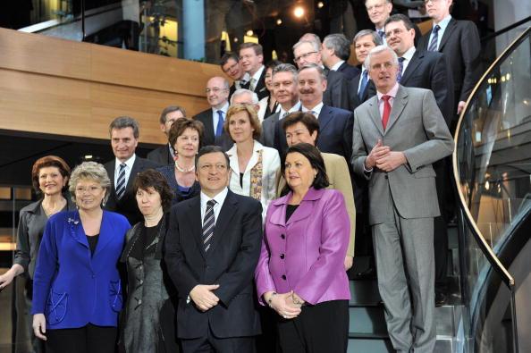 Главой комиссии на второй срок был утвержден Жозе Мануэл Баррозу.Фото: GEORGES GOBET/AFP/Getty Images
