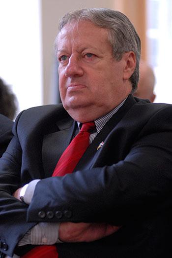 Андраш Баршонь, посол Венгрии в Украине. Фото: Владимир Бородин/The Epoch Times