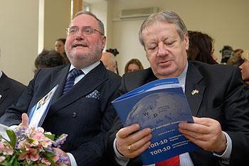 В Институте мировой политики 25 марта назвали лучшего иностранного посла в Украине за 2009 год.   Фото: Владимир Бородин/The Epoch Times