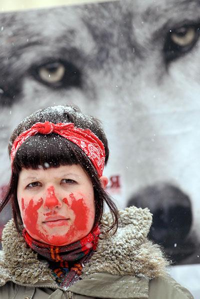Активисты за права животных. Владимир Бородин/Великая Эпоха/The Epoch Times
