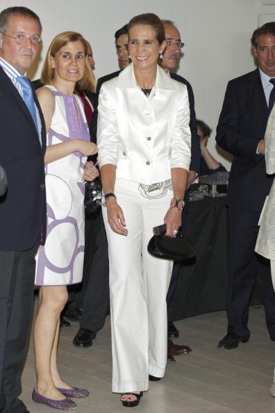 Фоторепортаж о посещении принцессой Еленой музея газеты АВС. Фото: Carlos Alvarez/Getty Images