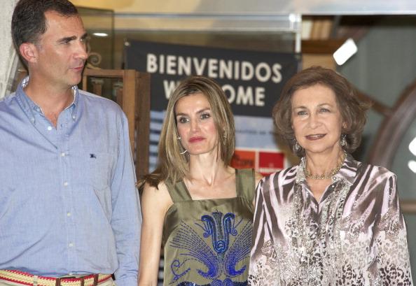 Фоторепортаж об ужине испанской королевской семьи в клубе Nautico. Фото: Carlos Alvarez/Getty Images