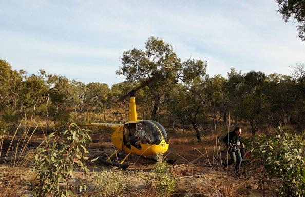 Фоторепортаж о наскальных рисунках в Австралии. Фото: Mark Kolbe/Getty Images