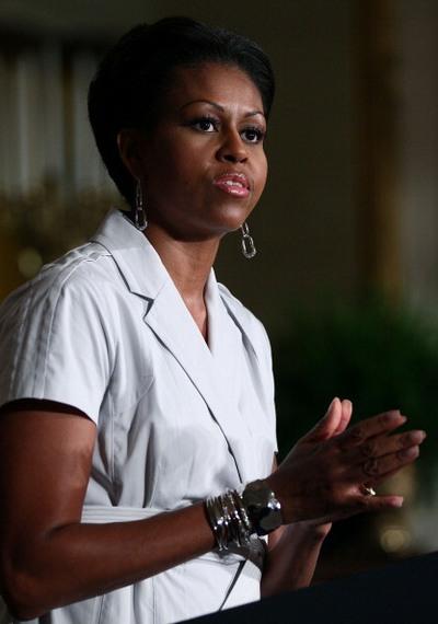 Фоторепортаж о кампании Мишель Обамы по борьбе с детским ожирением. Фото: Mark Wilson/Getty Images