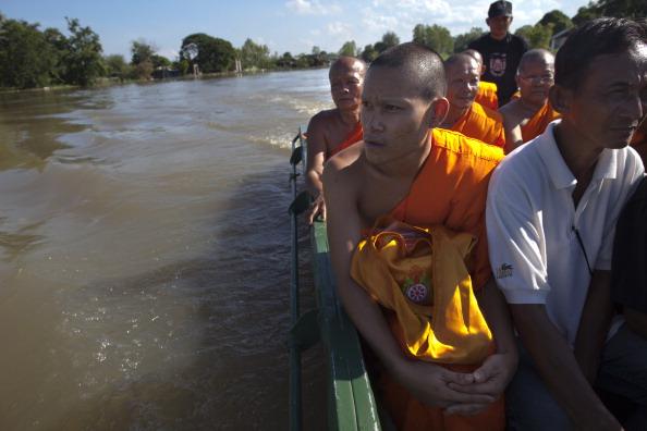 Фоторепортаж о наводнении в Таиланде.Фото:Paula Bronstein /Getty Images
