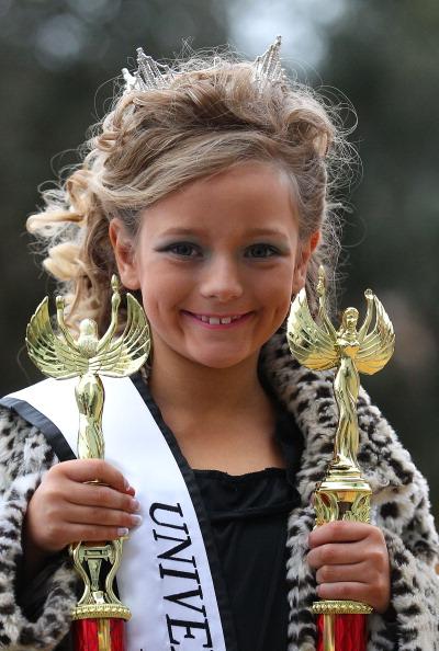 Фоторепортаж о детском конкурсе красоты.Фото: Scott Barbour/Getty Images